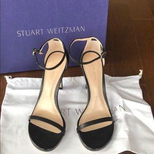 Stuart Weitzman Black Nudistsong Heels NEW!